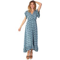 Vêtements Femme Robes longues Coton Du Monde Kendra Vert