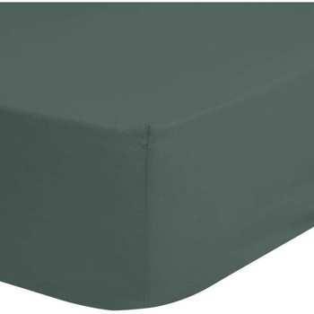 Maison & Déco Draps housse Good Morning Drap-housse 90 x 200 cm Vert