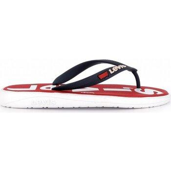 Chaussures Homme Tongs Levi's 229846 749 DELAMAR L Rouge