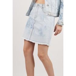 Vêtements Femme Jupes Toxik3 Jupe  tie and dye - You Bleu jean clair