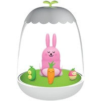 Maison & Déco Lampes à poser Le Monde Des Animaux Petit Akio veilleuse LED - Rabbit Rose