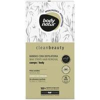 Beauté Femme Accessoires corps Body Natur Clean Beauty Bandas Cera Cuerpo Pieles Sensibles 16 U