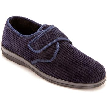 Chaussures Homme Chaussons Honcelac Derbies molletonnés extra-larges marine