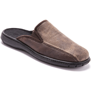 Chaussures Homme Chaussons Honcelac Mules 2 élastiques d'aisance homme marron
