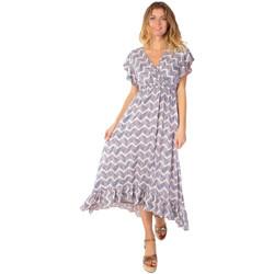 Vêtements Femme Robes longues Coton Du Monde Kendra Taupe