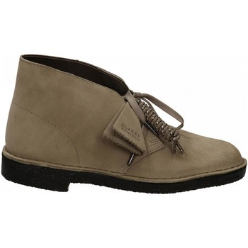Chaussures Homme Boots Clarks DESERT BOOT M grey