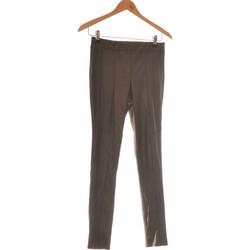Vêtements Femme Pantalons fluides / Sarouels Mosquitos Pantalon Slim Femme  36 - T1 - S Noir