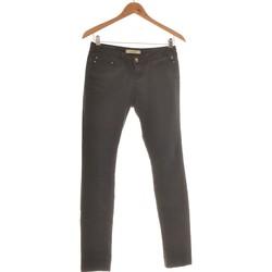 Vêtements Femme Jeans slim Bershka Jean Slim Femme  36 - T1 - S Noir