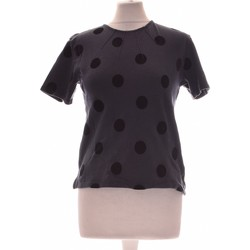 Vêtements Femme Tops / Blouses Monoprix Top Manches Courtes  34 - T0 - Xs Bleu