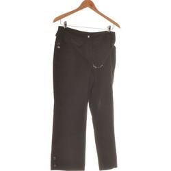 Vêtements Femme Pantalons fluides / Sarouels Ici Et Maintenant Pantalon Droit Femme  40 - T3 - L Noir
