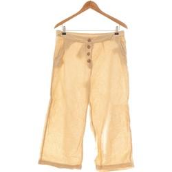 Vêtements Femme Pantalons fluides / Sarouels Pimkie Pantalon Bootcut Femme  40 - T3 - L Blanc