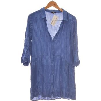 Vêtements Femme Robes courtes Jacqueline Riu Robe Courte  38 - T2 - M Bleu