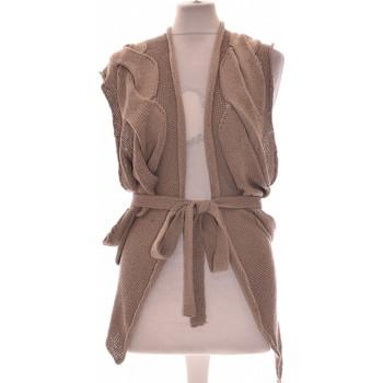 Vêtements Femme Gilets / Cardigans Deca Gilet Femme  38 - T2 - M Gris