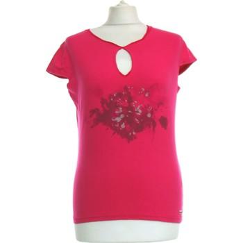 Vêtements Femme Tops / Blouses Voodoo Top Manches Courtes  40 - T3 - L Rose