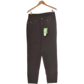 Vêtements Femme Jeans slim Kanabeach Pantalon Droit Femme  38 - T2 - M Noir