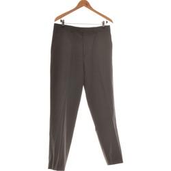 Vêtements Homme Pantalons fluides / Sarouels Carven Pantalon Droit Homme  42 - T4 - L/xl Gris