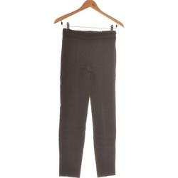 Vêtements Femme Pantalons fluides / Sarouels Mango Pantalon Droit Femme  34 - T0 - Xs Noir