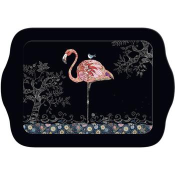 Maison & Déco Vides poches Le Monde Des Animaux Mini plateau rectangulaire BUG ART JEWELS - Flamant Noir