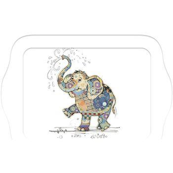 Maison & Déco Vides poches Le Monde Des Animaux Mini plateau rectangulaire KOOK - L'éléphant Blanc