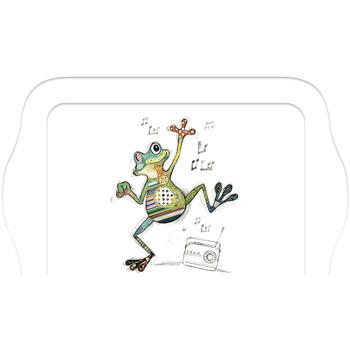 Maison & Déco Vides poches Le Monde Des Animaux Mini plateau rectangulaire KOOK - La Grenouille Blanc