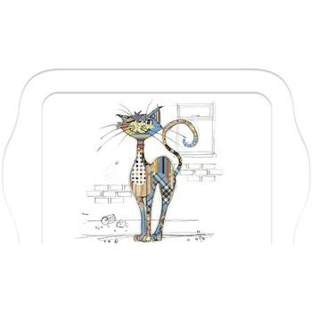 Maison & Déco Vides poches Le Monde Des Animaux Mini plateau rectangulaire KOOK - Le Chat Blanc
