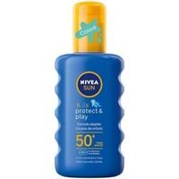 Beauté Protections solaires Nivea sun   Kids Protect & play Spray solaire coloré résista... Autres