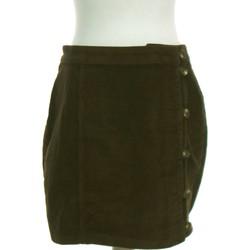 Vêtements Femme Jupes Pieces Jupe Courte  40 - T3 - L Marron