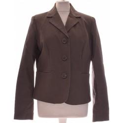 Vêtements Femme Vestes / Blazers Etam Blazer  42 - T4 - L/xl Gris
