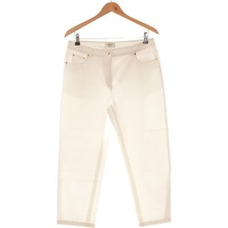 Vêtements Femme Pantalons 5 poches Weill Pantalon Droit Femme  40 - T3 - L Blanc