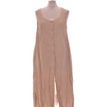 Vêtements Femme Robes longues Deca Robe Mi-longue  38 - T2 - M Beige