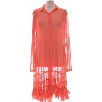 Vêtements Femme Chemises / Chemisiers Deca Chemise  36 - T1 - S Orange