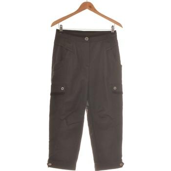 Vêtements Femme Pantalons cargo Deca Pantalon Droit Femme  36 - T1 - S Noir
