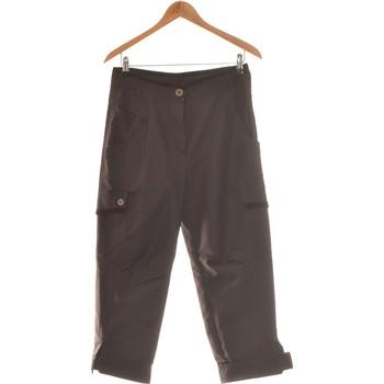 Vêtements Femme Pantalons cargo Deca Pantalon Droit Femme  38 - T2 - M Noir