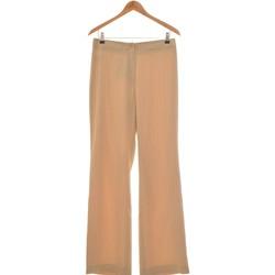 Vêtements Femme Pantalons fluides / Sarouels Sym Pantalon Bootcut Femme  40 - T3 - L Beige