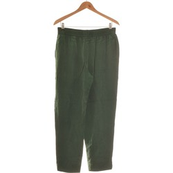 Vêtements Femme Pantalons fluides / Sarouels Zara Pantalon Slim Femme  40 - T3 - L Vert