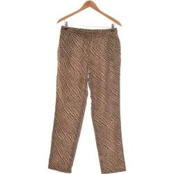 Vêtements Femme Chinos / Carrots Monoprix Pantalon Droit Femme  38 - T2 - M Vert