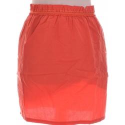 Vêtements Femme Jupes Color Block Jupe Courte  38 - T2 - M Orange