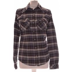 Vêtements Femme Chemises / Chemisiers Etam Chemise  36 - T1 - S Gris