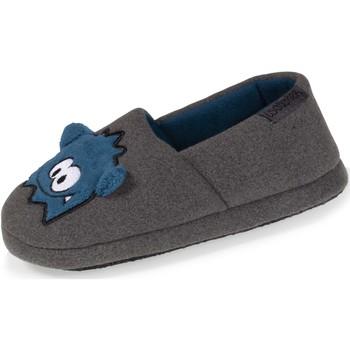 Chaussures Garçon Chaussons Isotoner Chaussons extra-light slippers Gris Foncé
