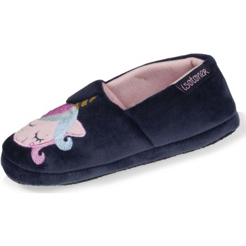 Chaussures Fille Chaussons Isotoner Chaussons extra-light slippers Marine