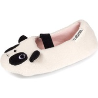Chaussures Fille Chaussons Isotoner Chaussons extra-light ballerines Ivoire