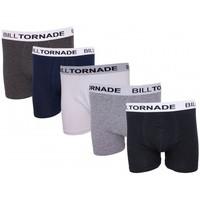 Sous-vêtements Homme Boxers Billtornade Classic Noir, Bleu, Blanc, Anthracite, Gris