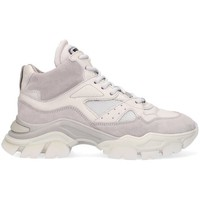 Chaussures Femme Baskets montantes Bronx Chaussure  Tayke-Over blanc/gris
