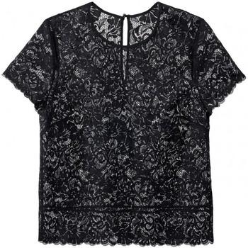 Vêtements Femme Tops / Blouses Aubade mon bijou top manches perle noire