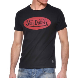 Vêtements Homme T-shirts manches courtes Von Dutch VD/TSC/FRONT Noir