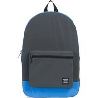 Sacs Sacs à dos Herschel Packable Daypack Black Reflective/Neon Blue - Reflective