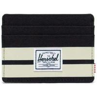 Sacs Portefeuilles Herschel Herschel Charlie RFID Black/Birch Stripe