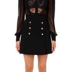 Vêtements Femme Jupes Elisabetta Franchi GO49016E2 nero