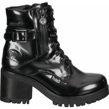 Chaussures Femme Boots Dockers Bottines Schwarz Lack