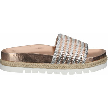 Chaussures Femme Mules La Strada Mules Rose Metallic